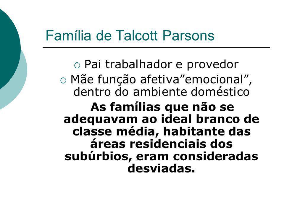 Família de Talcott Parsons