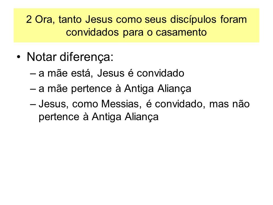 2 Ora, tanto Jesus como seus discípulos foram convidados para o casamento
