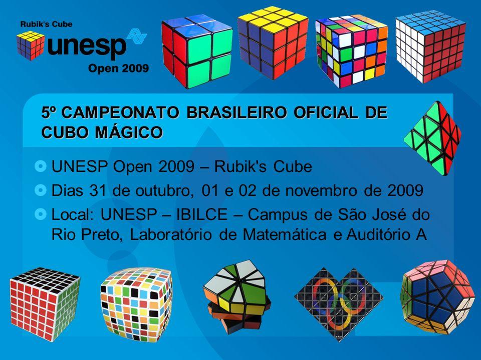 5º CAMPEONATO BRASILEIRO OFICIAL DE CUBO MÁGICO