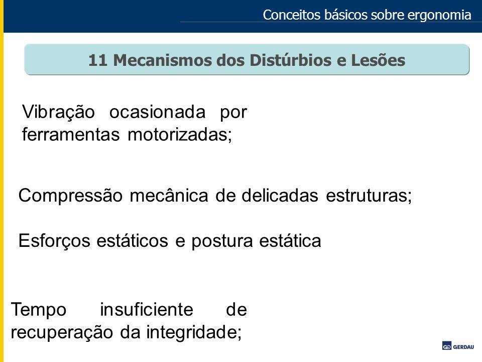 11 Mecanismos dos Distúrbios e Lesões