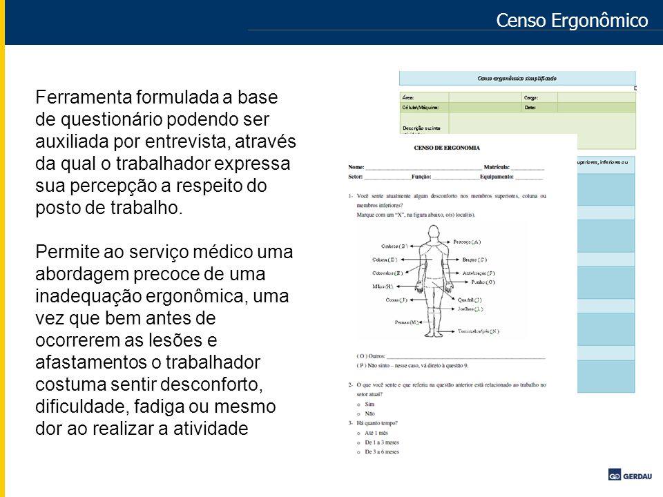 Censo Ergonômico