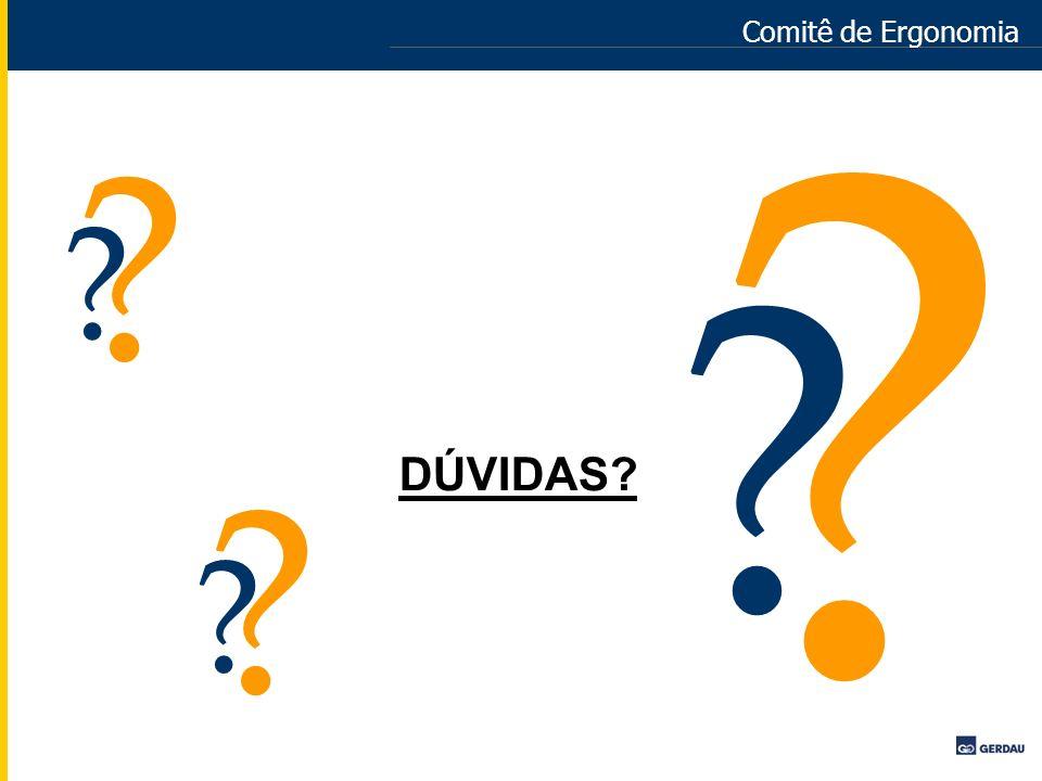 Comitê de Ergonomia DÚVIDAS