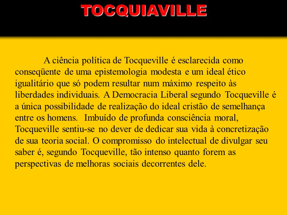 TOCQUIAVILLE