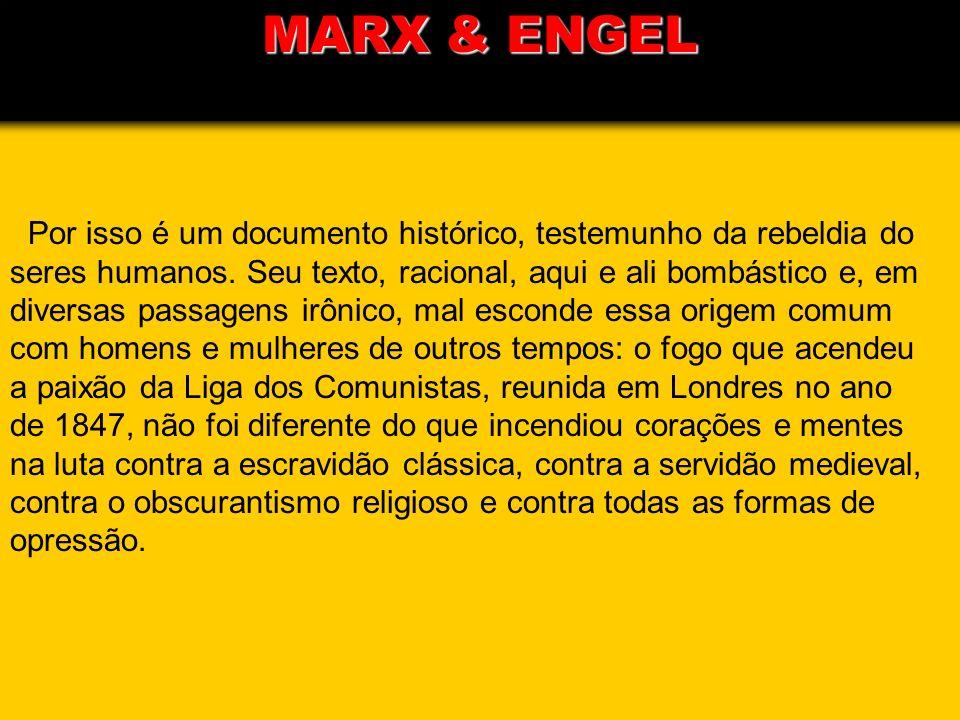 MARX & ENGEL