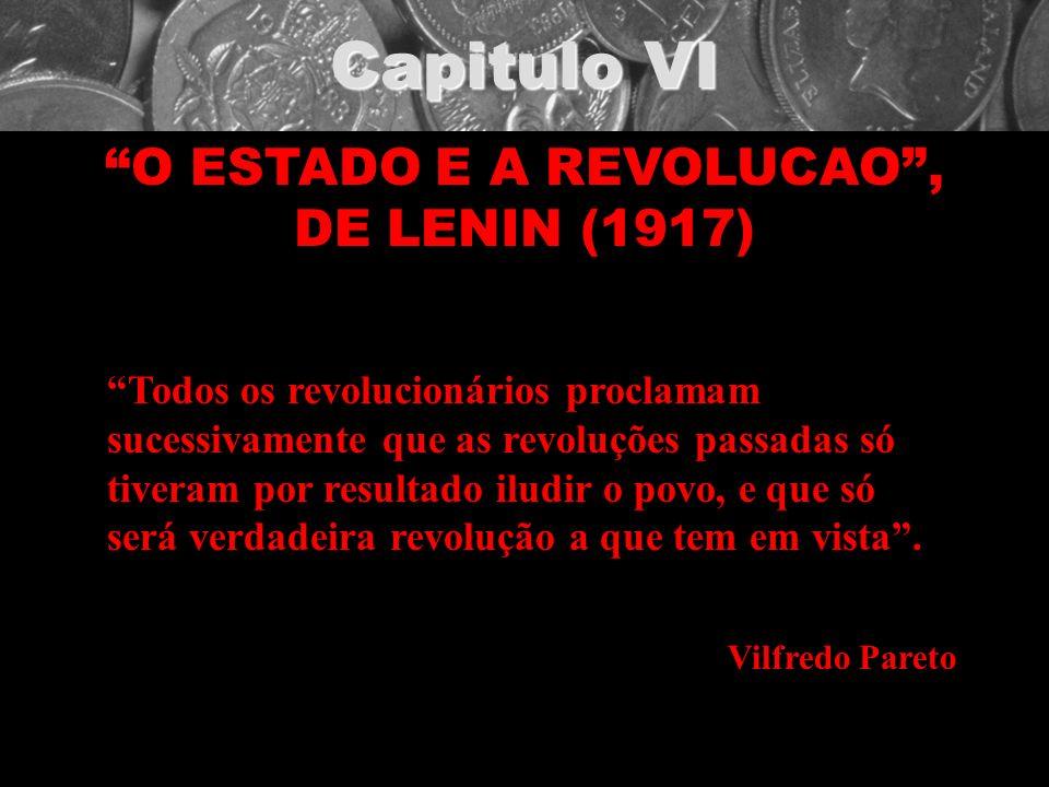 O ESTADO E A REVOLUCAO , DE LENIN (1917)