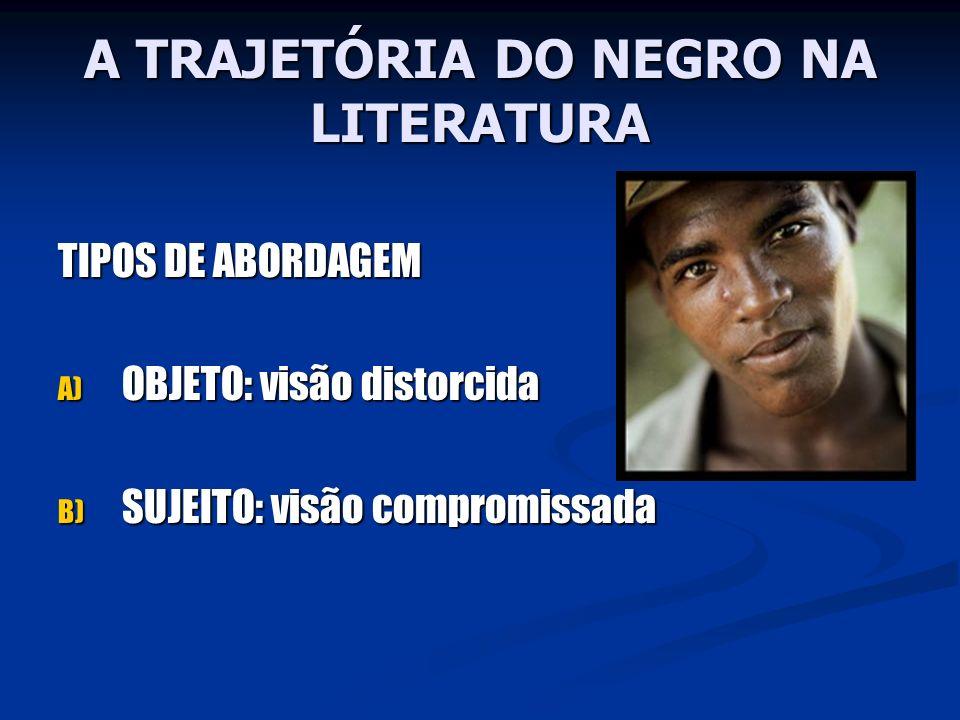 A TRAJETÓRIA DO NEGRO NA LITERATURA