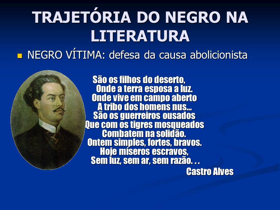 TRAJETÓRIA DO NEGRO NA LITERATURA