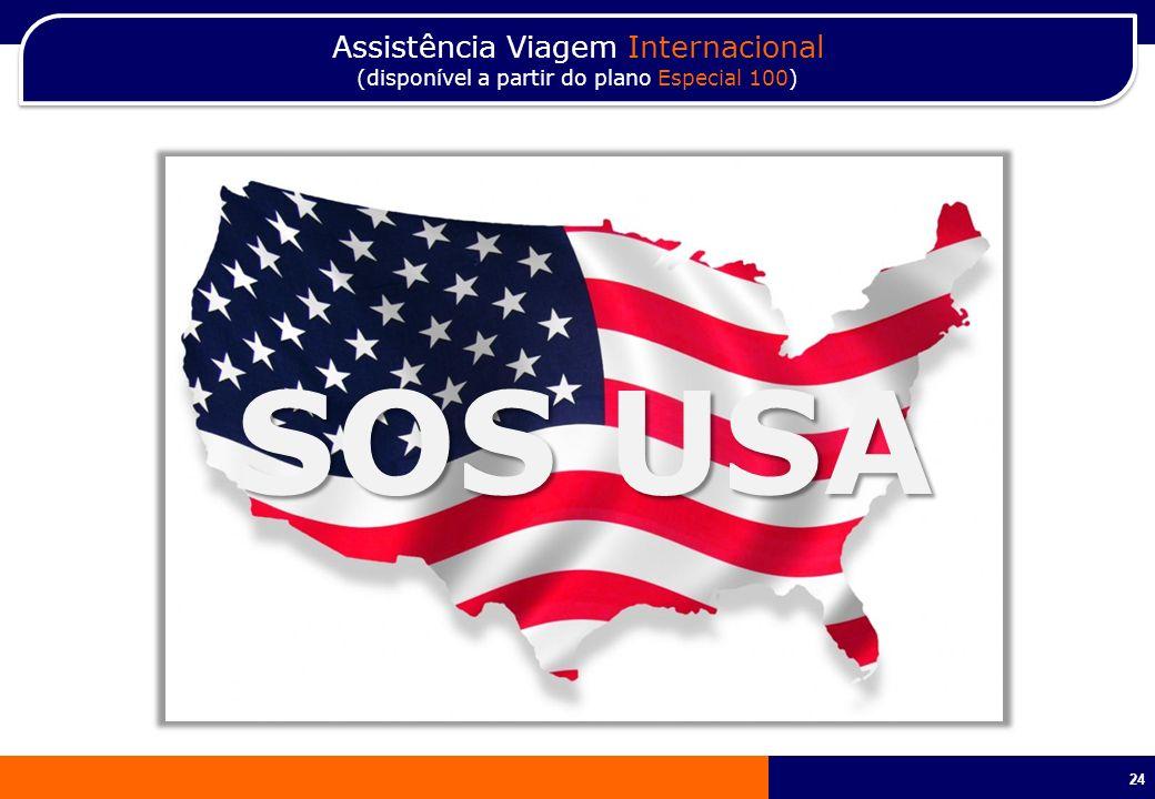 SOS USA Assistência Viagem Internacional