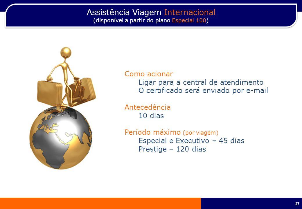 Assistência Viagem Internacional