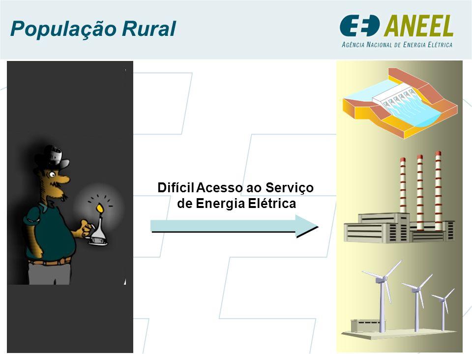 Difícil Acesso ao Serviço de Energia Elétrica