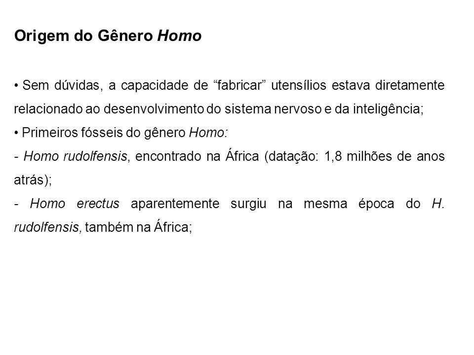 Origem do Gênero Homo