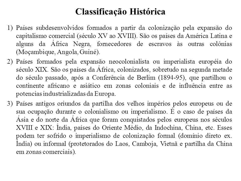 Classificação Histórica