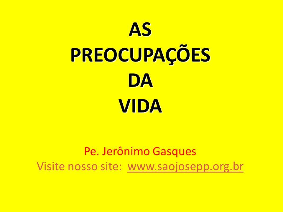 Visite nosso site: www.saojosepp.org.br