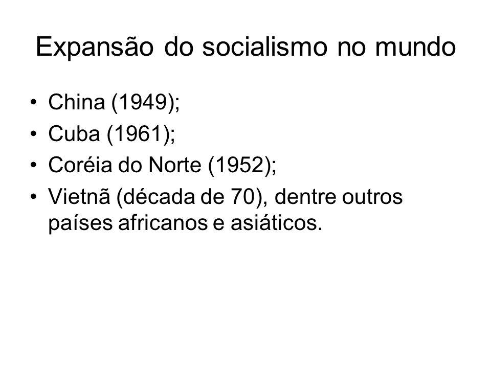 Expansão do socialismo no mundo