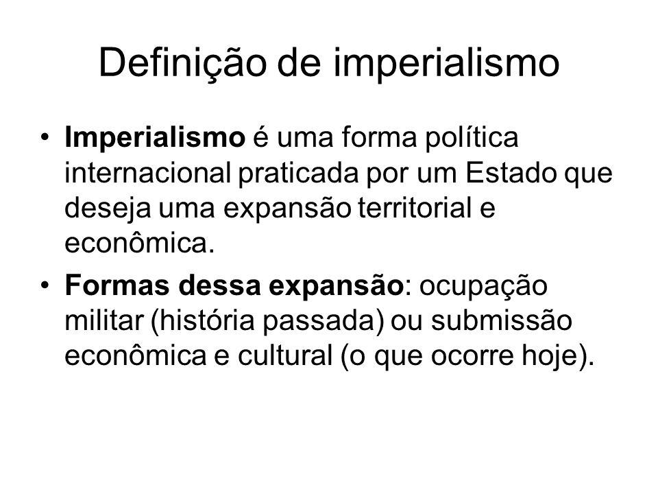 Definição de imperialismo
