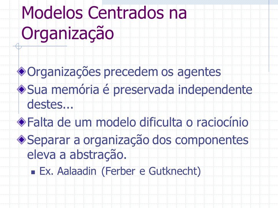 Modelos Centrados na Organização
