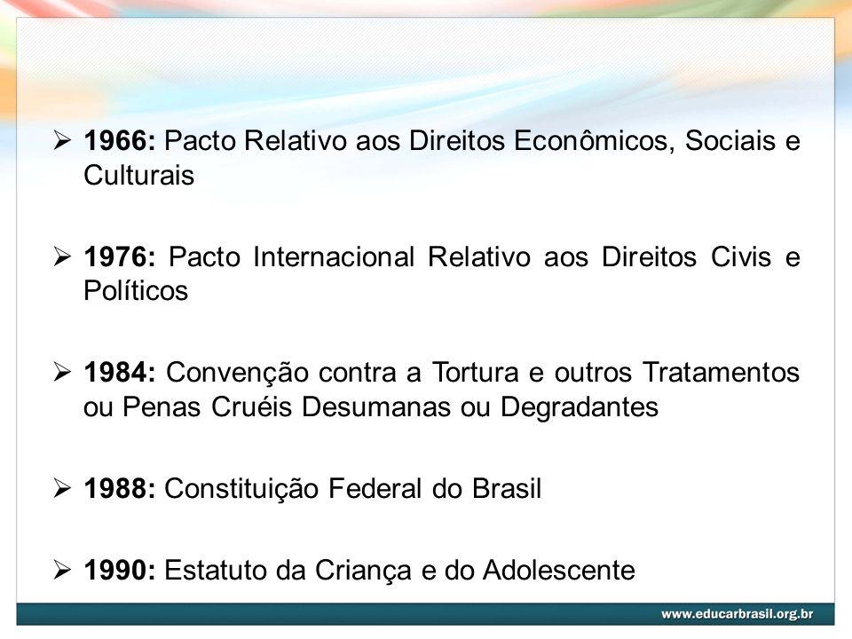 1966: Pacto Relativo aos Direitos Econômicos, Sociais e Culturais