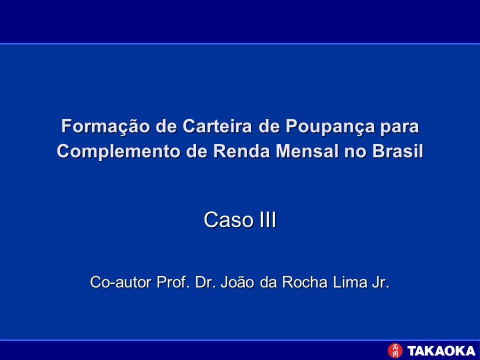 Caso III Co-autor Prof. Dr. João da Rocha Lima Jr.