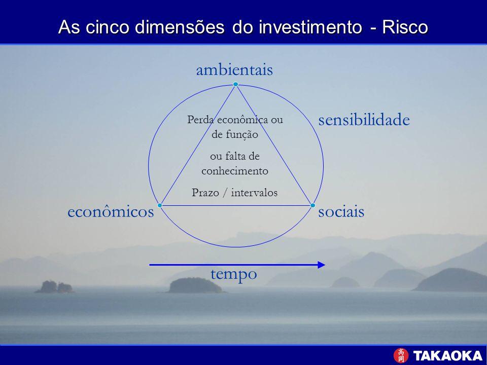 As cinco dimensões do investimento - Risco
