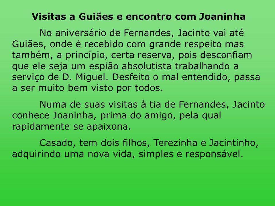Visitas a Guiães e encontro com Joaninha