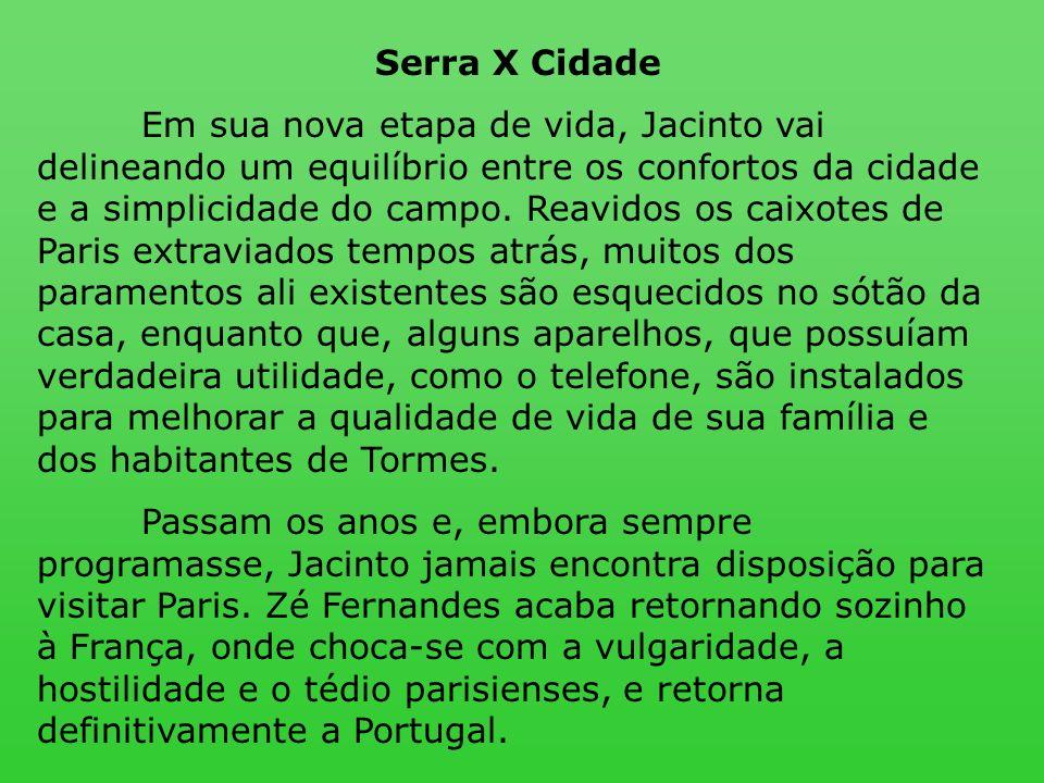 Serra X Cidade