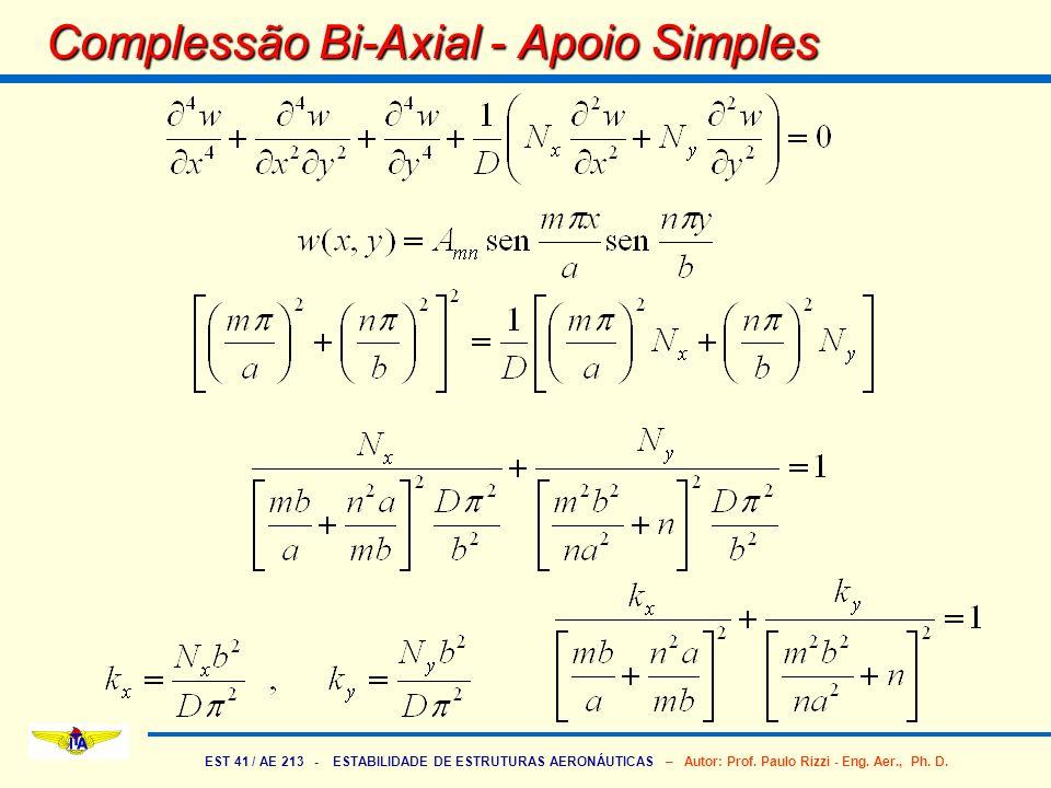 Complessão Bi-Axial - Apoio Simples