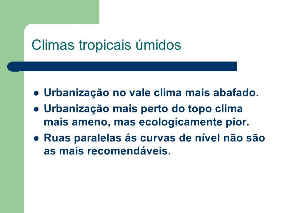 Climas tropicais úmidos
