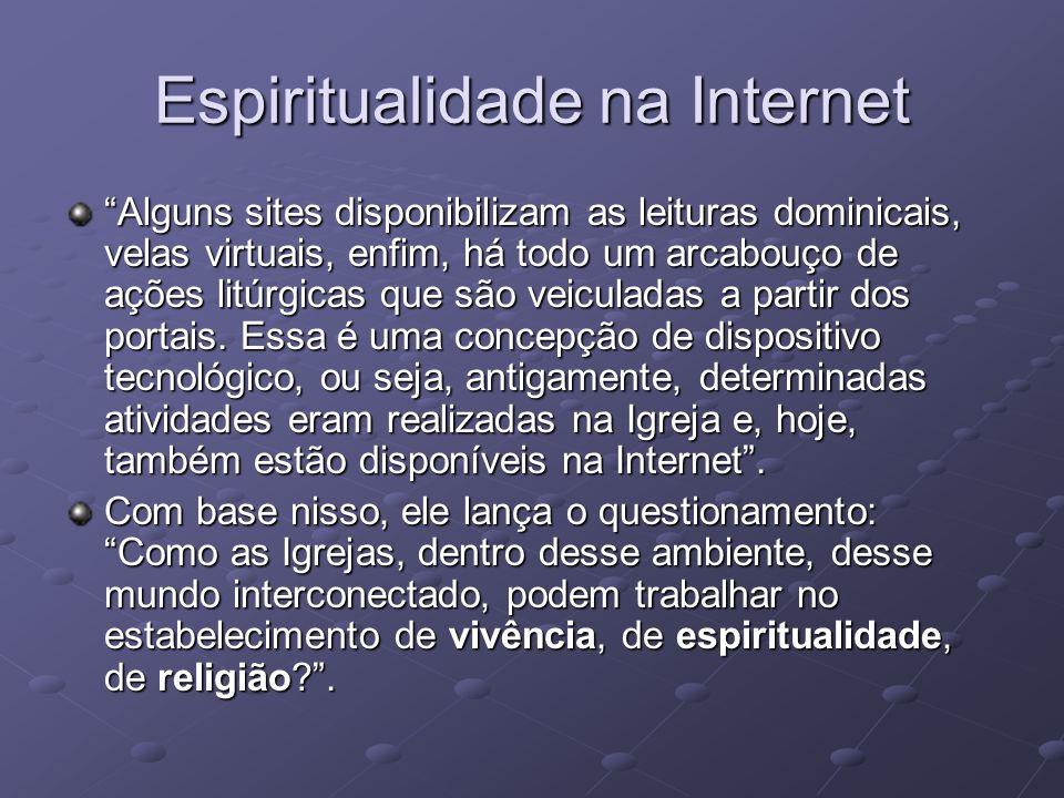 Espiritualidade na Internet