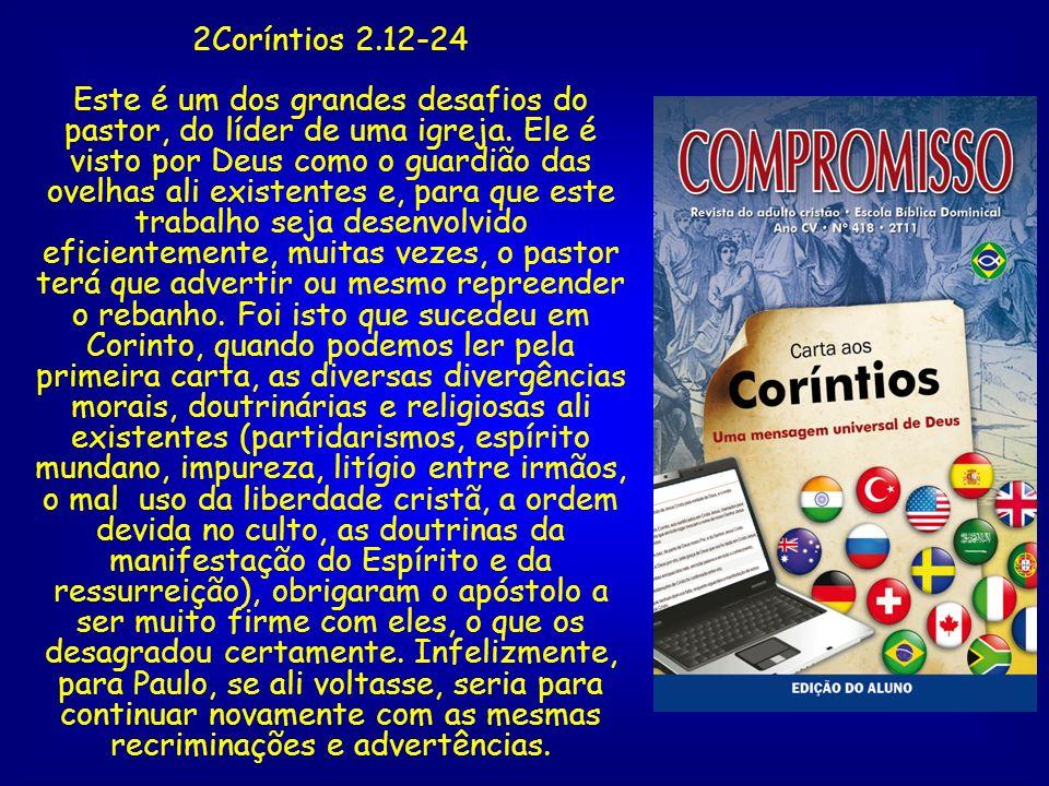 2Coríntios 2.12-24