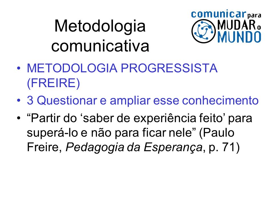 Metodologia comunicativa