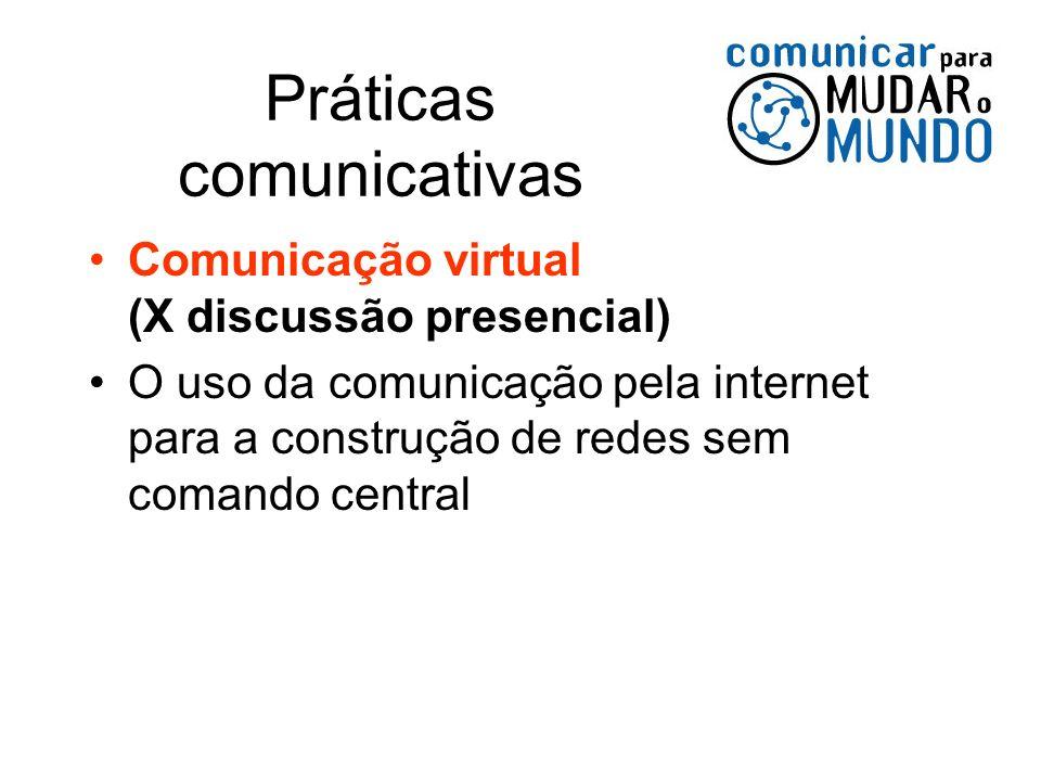 Práticas comunicativas