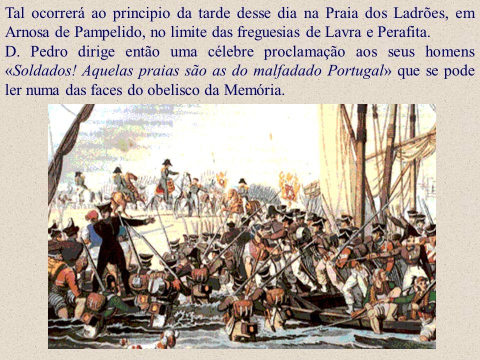 Tal ocorrerá ao principio da tarde desse dia na Praia dos Ladrões, em Arnosa de Pampelido, no limite das freguesias de Lavra e Perafita.