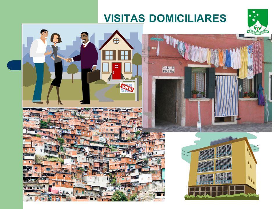 VISITAS DOMICILIARES