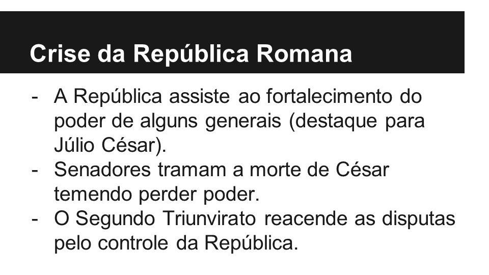 Crise da República Romana