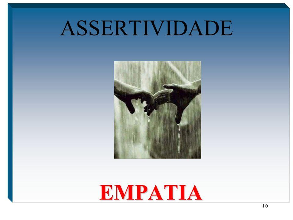 ASSERTIVIDADE EMPATIA