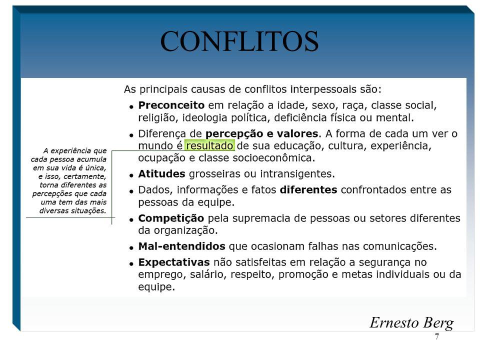 CONFLITOS Ernesto Berg