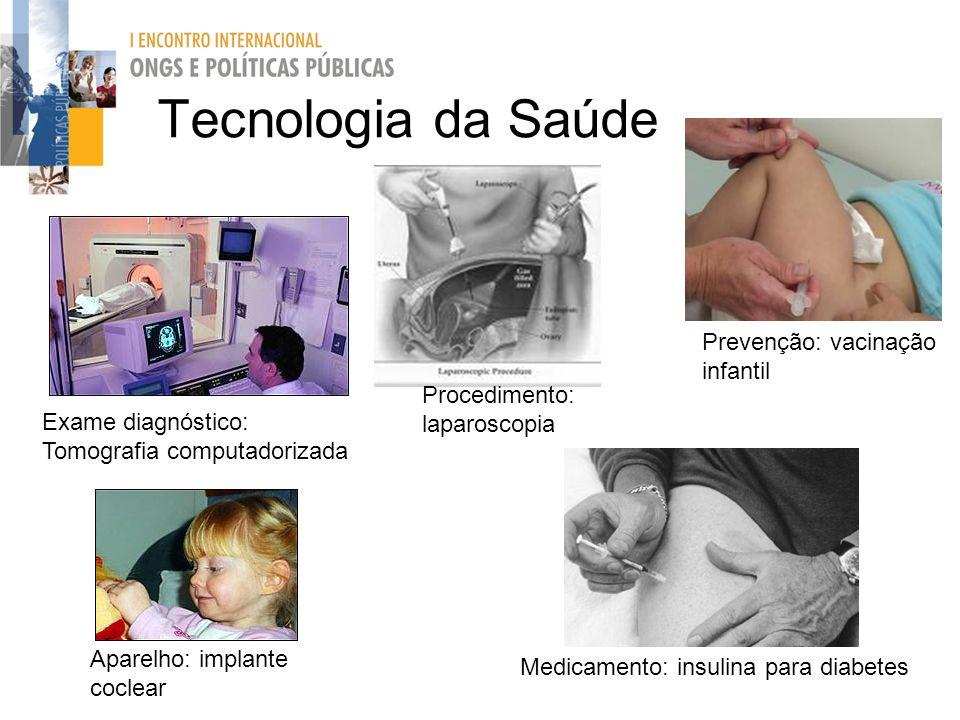 Tecnologia da Saúde Prevenção: vacinação infantil Procedimento: