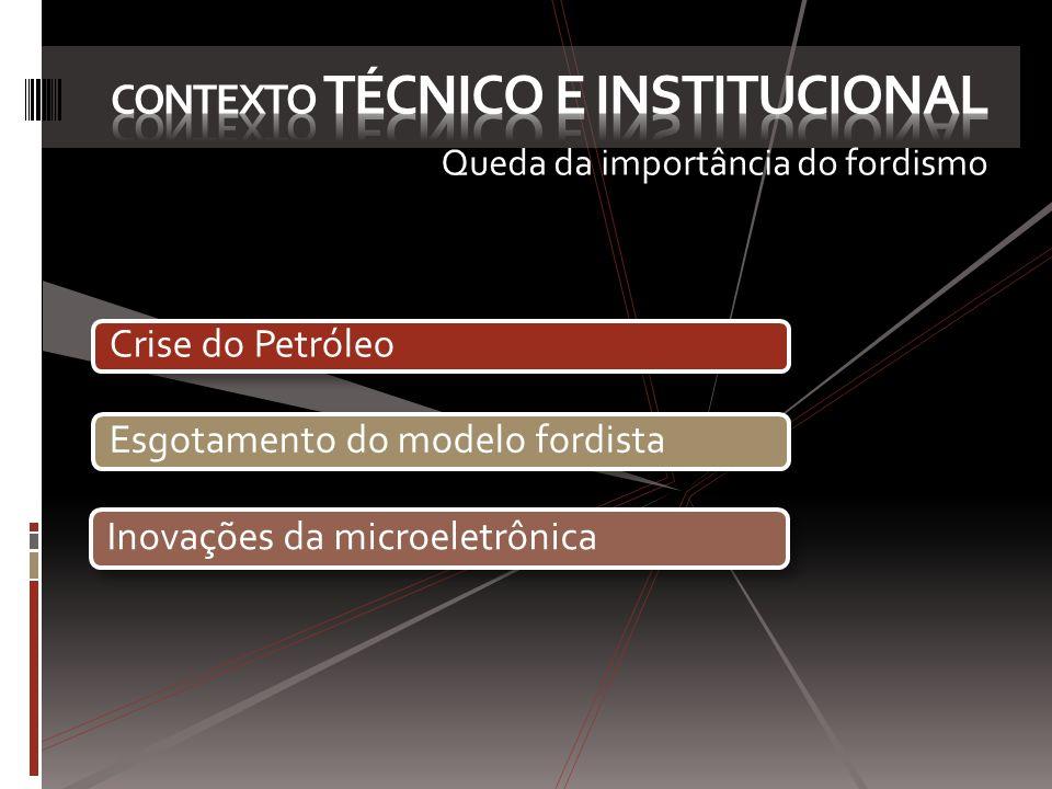 Contexto técnico e institucional