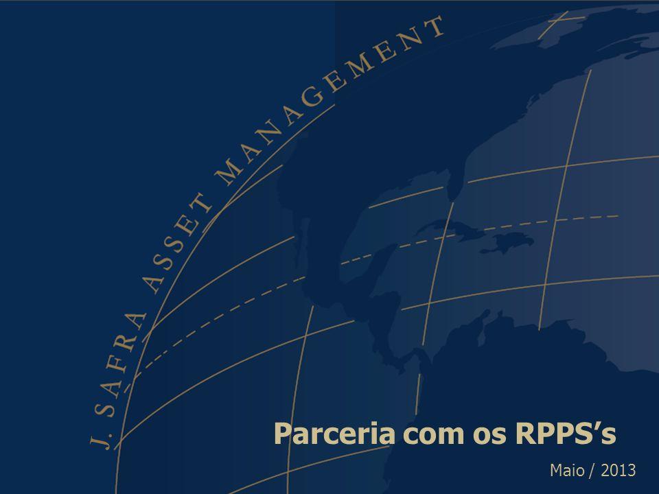 Parceria com os RPPS's Parceria com os RPPS's