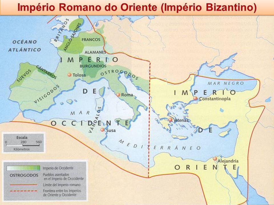 Império Romano do Oriente (Império Bizantino)