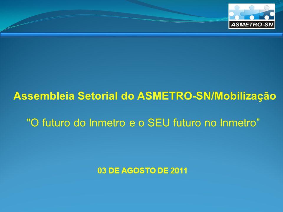 Assembleia Setorial do ASMETRO-SN/Mobilização