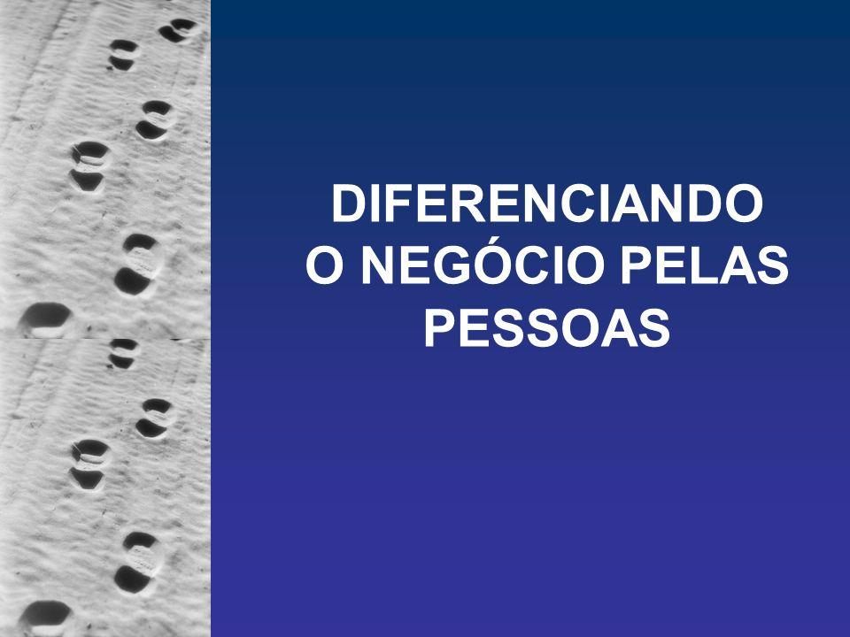 DIFERENCIANDO O NEGÓCIO PELAS PESSOAS