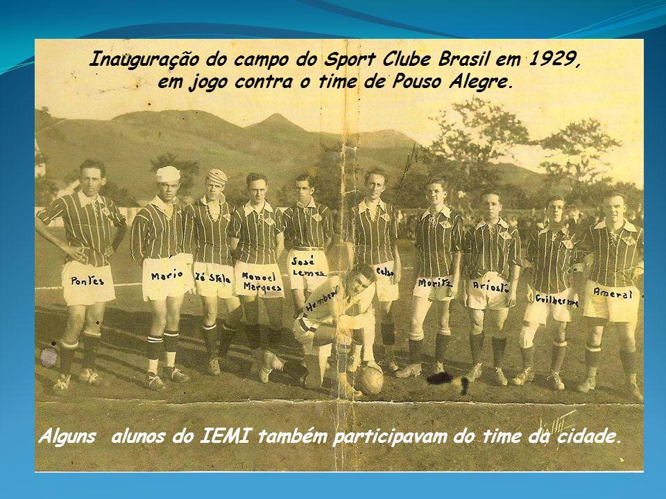 Inauguração do campo do Sport Clube Brasil em 1929,