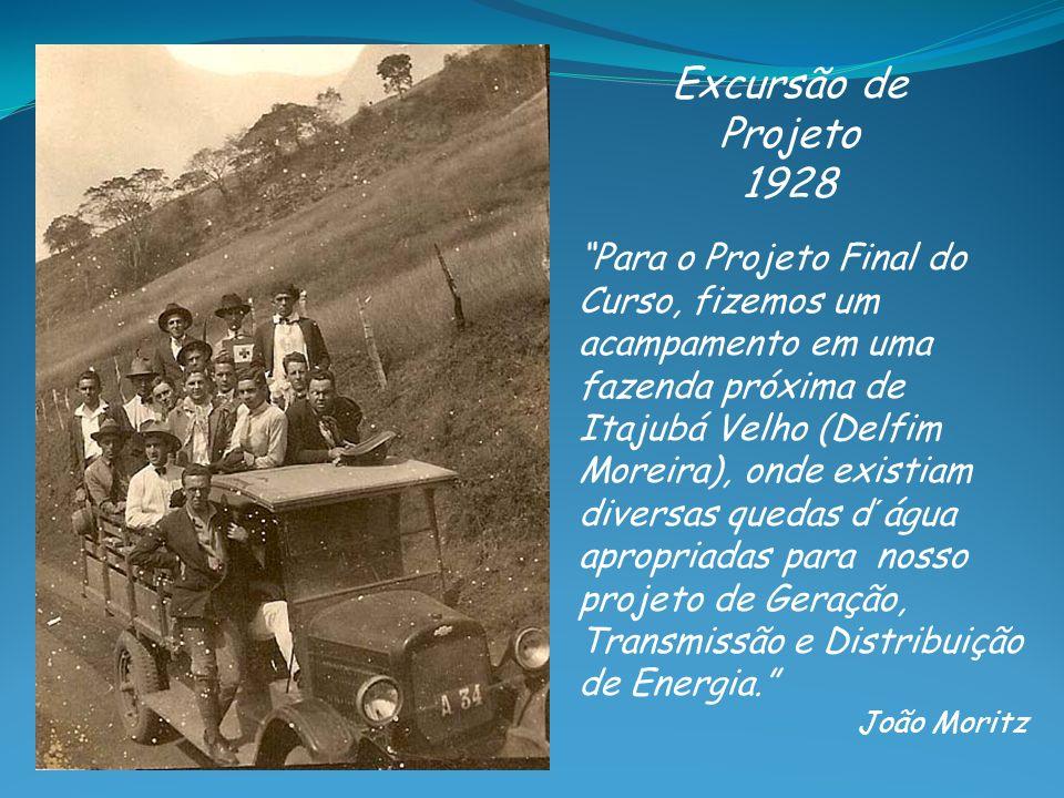 Excursão de Projeto 1928.