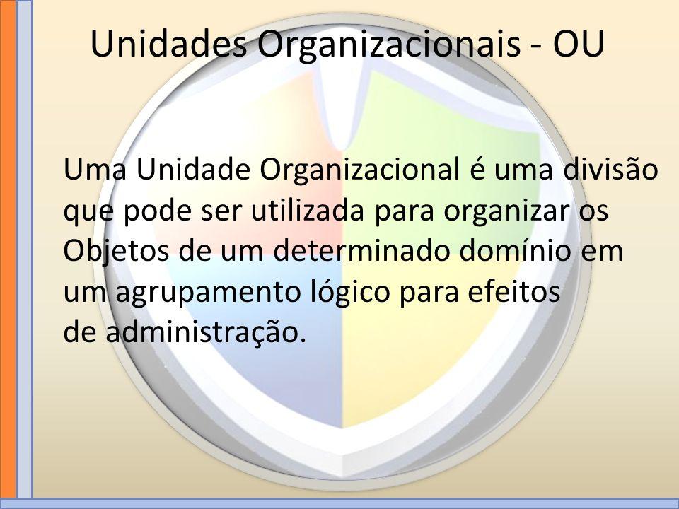 Unidades Organizacionais - OU