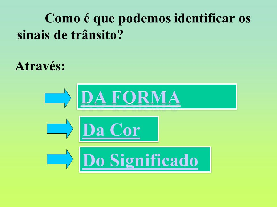 Da Forma Da Cor Do Significado