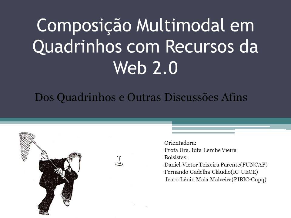 Composição Multimodal em Quadrinhos com Recursos da Web 2.0