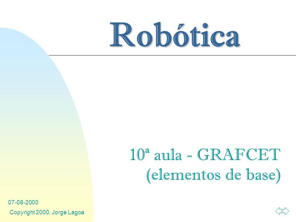 10ª aula - GRAFCET (elementos de base)