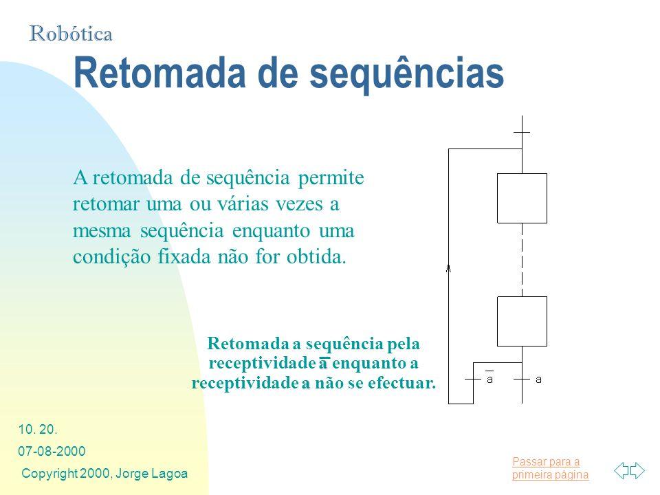 Retomada de sequências
