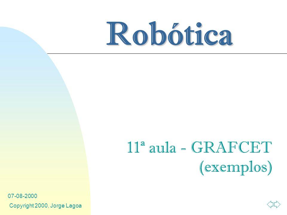 11ª aula - GRAFCET (exemplos)
